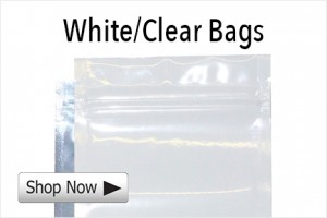 White and Clear Mylar Bags Category