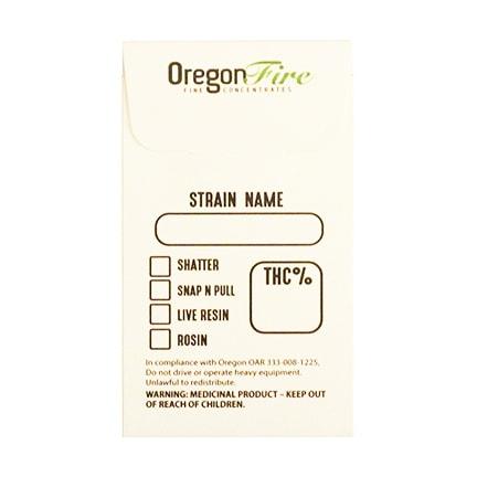 Custom Concentrate Envelopes | Bulk Wholesale Marijuana