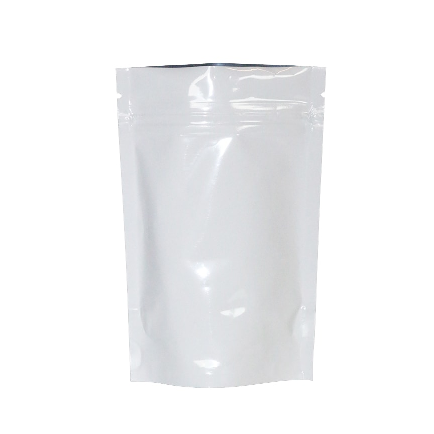 White 1 8 Ounce Mylar Bags