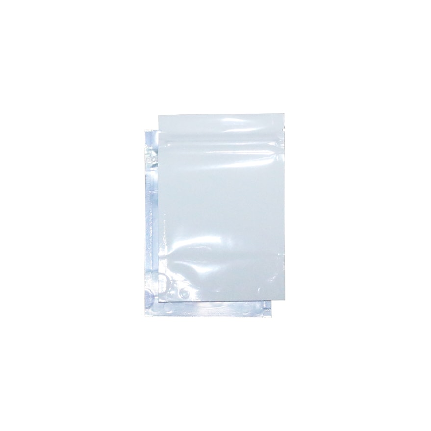 1 8 Oz Odor Free Mylar Bags White Clear 1000 Pieces