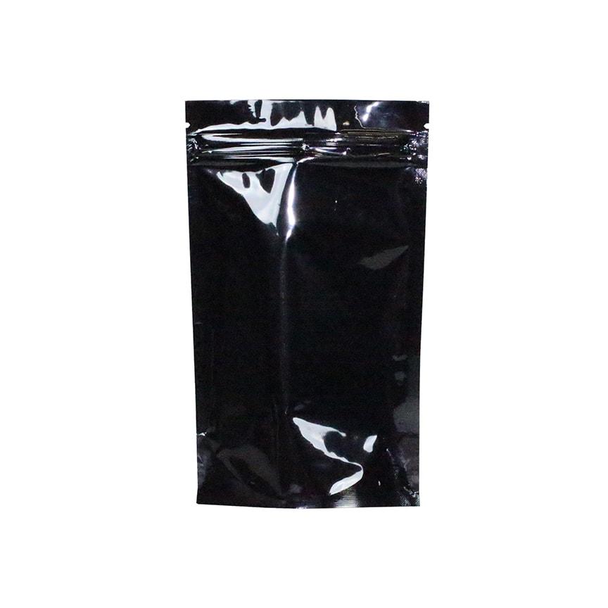 1 4 oz odor free mylar dispensary bags black clear 1000 pc