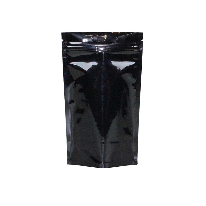1 Gram Odor Free Mylar Dispensary Bags Black 1000 Pieces