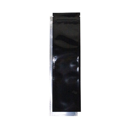 Syringe Bag for Marijuana Concentrates Black and Clear