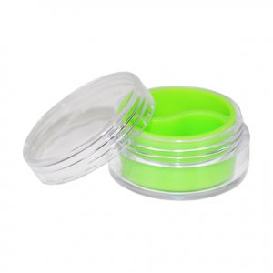 10ml-lime-silicone-lined-plastic-containers