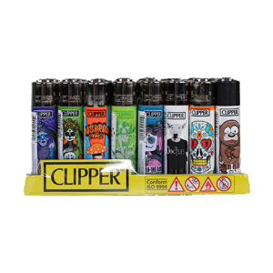 Clipper Pot Leaf Lighter Assortment 72