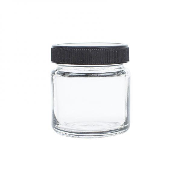4oz Glass Jar for Marijuana Herbs
