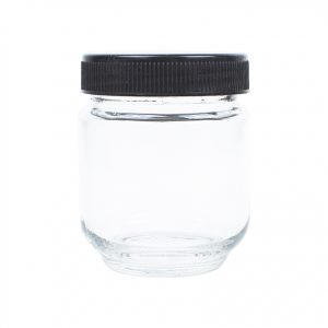 6oz Glass Jar for Quarter Ounce of Marijuana
