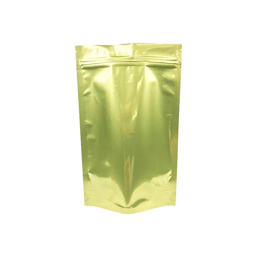 1 ounce heavy duty mylar dispensary bags gold clear