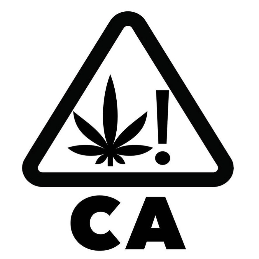 2018 california marijuana packaging rules regulations new california product symbol like the one featured above will be required to be on cannabis products buycottarizona Choice Image